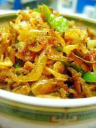 蒜香虾米的做法