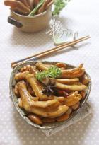 白芸豆烧鸭掌的做法