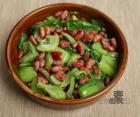苦菜酥红豆的做法