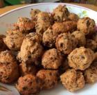 香菇鸡肉豆渣丸子的做法