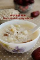 薏米山药红枣粥的做法