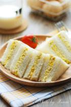 鸡蛋三明治的做法
