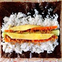 紫菜卷寿司的做法图片步骤3