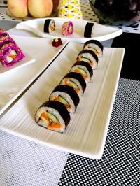 紫菜卷寿司的做法图片步骤5