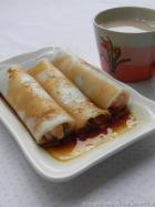 营养早餐 鲜虾肠粉的做法,怎么做,鲜虾肠粉如何做好吃详细步骤图解