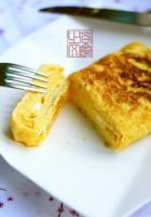 营养早餐 厚蛋烧的做法,怎么做,厚蛋烧如何做好吃详细步骤图解