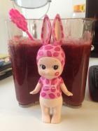 草莓树莓番茄汁的做法