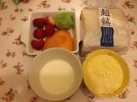 深夜烘焙坊的水果三明治的做法图片步骤2