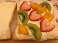 深夜烘焙坊的水果三明治的做法图片步骤6