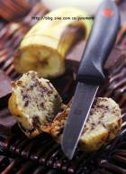 香蕉巧克力碎片麦芬的做法
