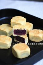 紫薯方块酥的做法