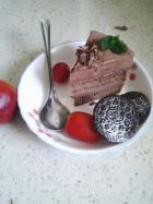 巧克力芭菲蛋糕的做法