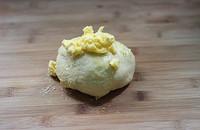 豆沙面包卷的做法图片步骤2