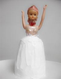 芭比娃娃蛋糕的做法第3步图片步骤 www.027eat.com