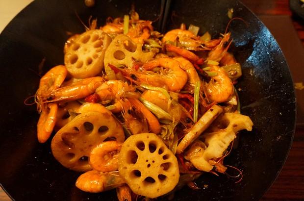 家常下饭干锅香辣虾的做法,如何做,干锅香辣虾怎么做好吃详细步骤图解
