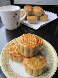 五仁月饼的做法第16步图片步骤 www.027eat.com