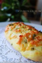 香葱芝士面包条的做法