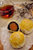 传统小吃 蛋黄酥的做法,如何做,蛋黄酥怎么做好吃详细步骤图解