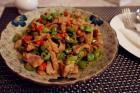 双椒牛肉的做法