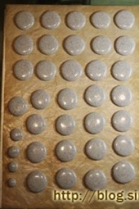 黑芝麻马卡龙的做法第5步图片步骤 www.027eat.com