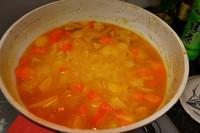 日式咖喱鸡肉饭的做法第8步图片步骤 www.027eat.com