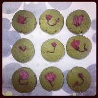 抹茶樱花饼的做法第6步图片步骤 www.027eat.com