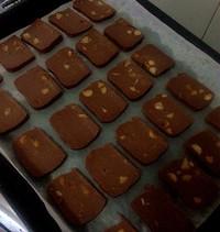 巧克力榛子饼干的做法第2步图片步骤 www.027eat.com