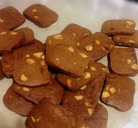 巧克力榛子饼干的做法第3步图片步骤 www.027eat.com