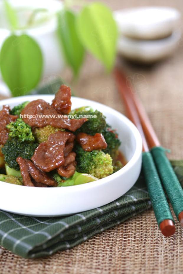 西兰花炒牛肉的做法,如何做,西兰花炒牛肉怎么做好吃详细步骤图解