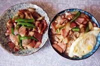 姬菇炒腊肉的做法第8步图片步骤 www.027eat.com