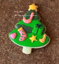 圣诞糖霜饼干的做法第10步图片步骤 www.027eat.com