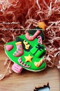 圣诞糖霜饼干的做法第12步图片步骤 www.027eat.com