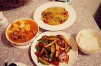 香干炒腊肉的做法第10步图片步骤 www.027eat.com