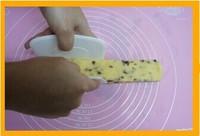 蔓越莓饼干的做法第7步图片步骤 www.027eat.com