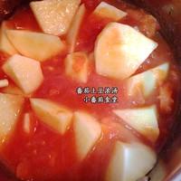 番茄土豆浓汤的做法第7步图片步骤 www.027eat.com