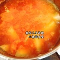 番茄土豆浓汤的做法第8步图片步骤 www.027eat.com