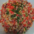 芹菜肉末胡萝卜的做法
