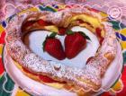 心形草莓泡芙的做法