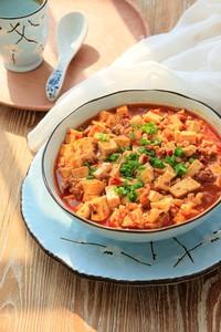 麻婆豆腐的做法第9步图片步骤 www.027eat.com