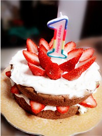 周岁生日蛋糕的做法第19步图片步骤 www.027eat.com