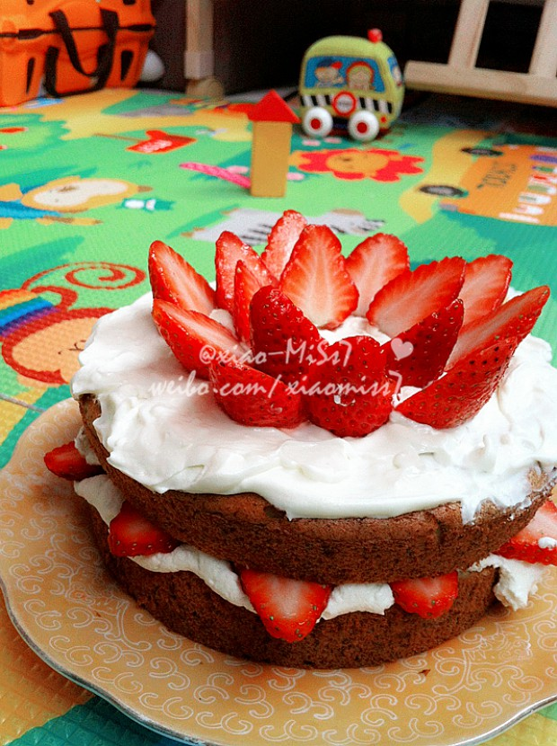 周岁生日蛋糕的做法