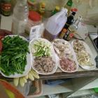 猪肉炒蒜苗的做法