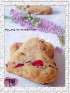 玫瑰心形饼干的做法