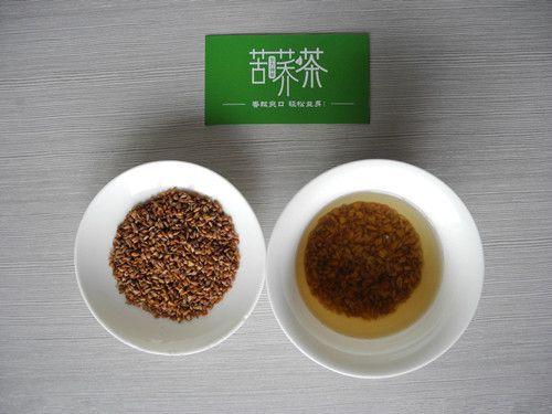 黑苦荞茶的十大功效