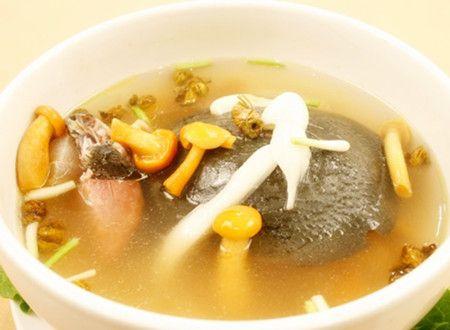 明炉三菌甲鱼汤怎么做 明炉三菌甲鱼汤的做法 www.027eat.com