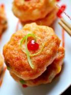 怎样做虾饼?田园小虾饼的做法