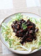 中式风味的素肉酱拌意面