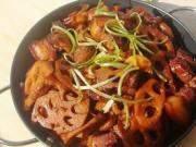 藕片红烧肉的做法第20步图片步骤 www.027eat.com