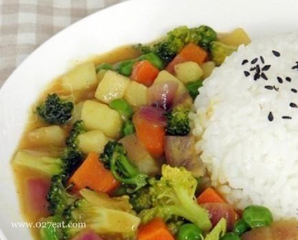 开胃晚餐 咖喱杂蔬的做法,如何做,咖喱杂蔬怎么做好吃详细步骤图解