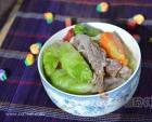 排骨炖儿菜的做法